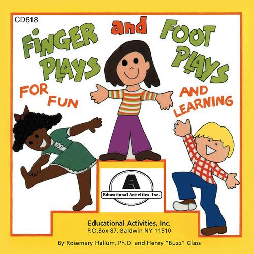 Educational Activities ETACD618 Fingerplays & Footplays Cd