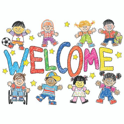 Eureka EU-831912 Star Students Welcome Teacher Cards