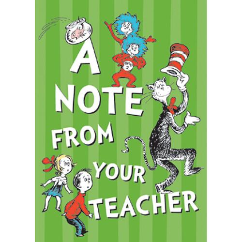 Eureka EU-831903 Cat In The Hat Teacher Cards