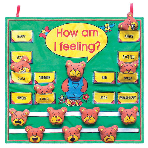 Get Ready Kids MTB801 How Am I Feeling Fabric Chart