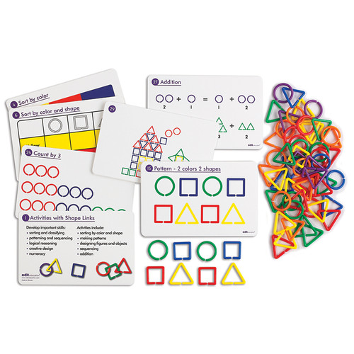 Learning Advantage CTU14124 Shape Link Activity Set