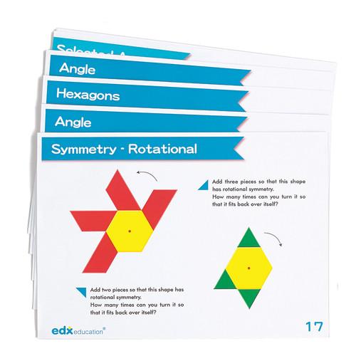 Learning Advantage CTU22292 Advanced Pattern Block Cards