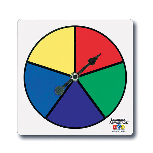Learning Advantage CTU7353 Five-color Spinners