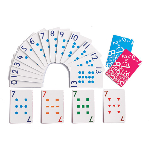 Learning Advantage CTU24529 Jumbo Child Friendly Playing Cards