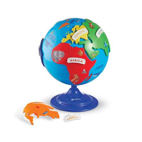 Learning Resources LER7735 Puzzle Globe