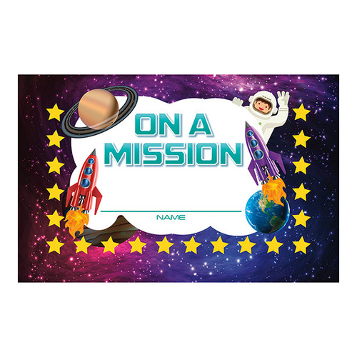 North Star Teacher Resource NST2420 Launch Into Learn Incentive Cards