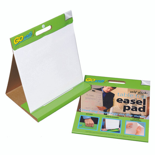 Pacon Corporation PACTSP1615 Gowrite Self-stick Table Top Easel Pads 16 X 15