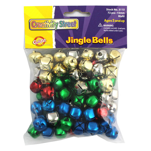 Pacon Corporation CK-3115 Jingle Bells Class Pack Multi-color