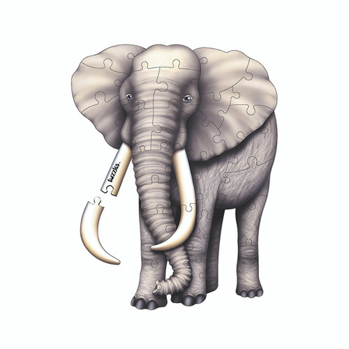 Platapilla Usa Inc PPAFL020 Elephant Floor Puzzle