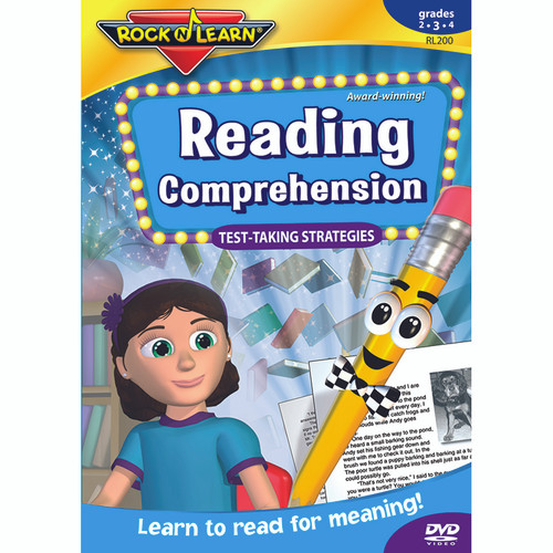 Rock N Learn RL-200 Reading Comprehension Test Taking Strategies Dvd