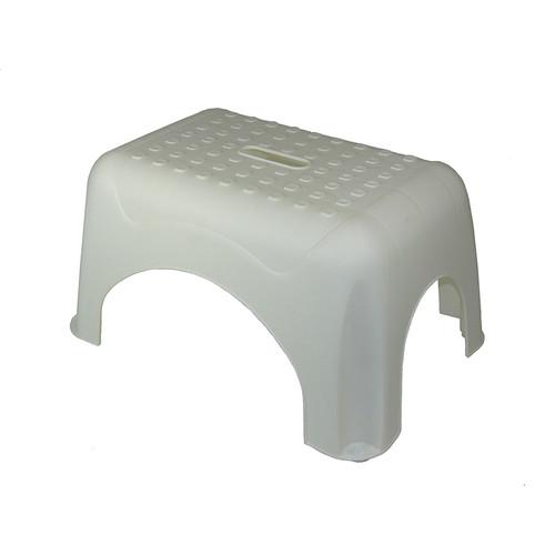 Romanoff Products ROM91001 Step Stool White 17.5x12.25x9.25