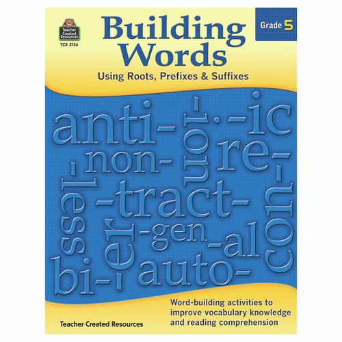 Teacher Created Resources TCR3136 Building Words Gr 5