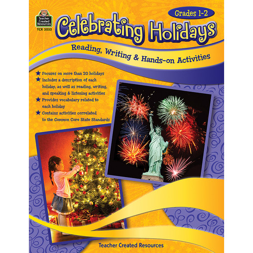 Teacher Created Resources TCR3033 Celebrating Holidays Gr 1-2