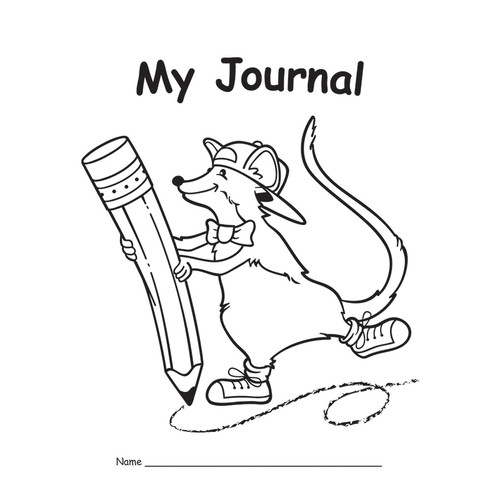 Teacher Created Resources EP-143G My Journal Primary 10-pk