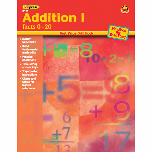 Teacher Created Resources EP-109 Addition 1 Facts 0-20