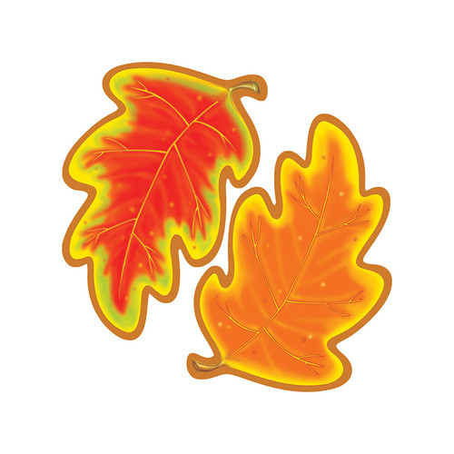 Trend Enterprises Inc. T-10004 Classic Accents Autumn 36 / Pk 5x5 Leaves