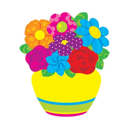 Trend Enterprises Inc. T-10077 Colorful Bouquet Accents