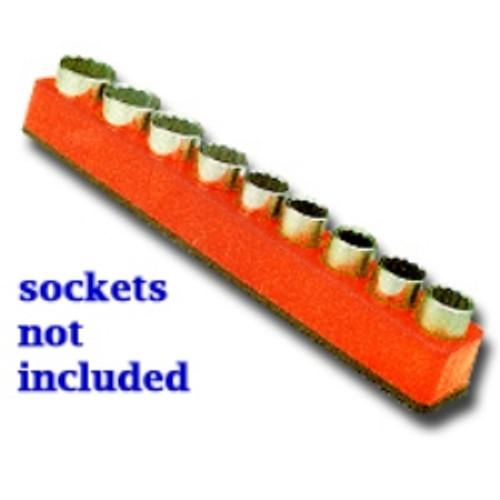 """1/2"""" Drive Magnetic Orange Socket Holder   10-19mm"""