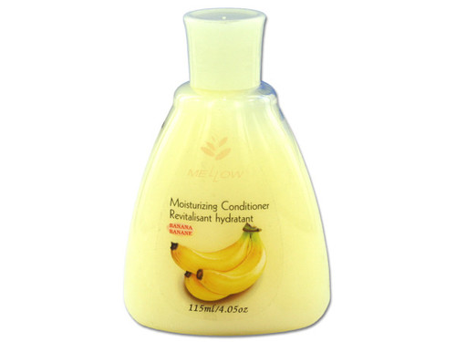 Travel size banana scented conditioner