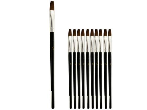1/2 Inch Single Stroke Camel Hair Artist Brush Set