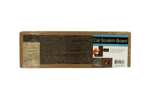 Cat Scratch Board with Catnip