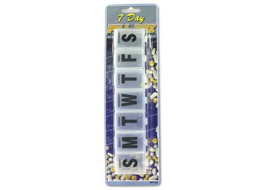 7-Day Jumbo Pill Box
