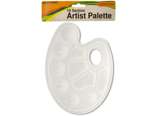 10 Section Artist Paint Palette