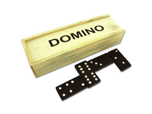 Domino Set in Wooden Box