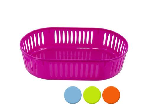 Plastic Oval Storage Basket