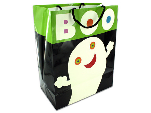 """Boo!"" Glow in the Dark Gift Bag"