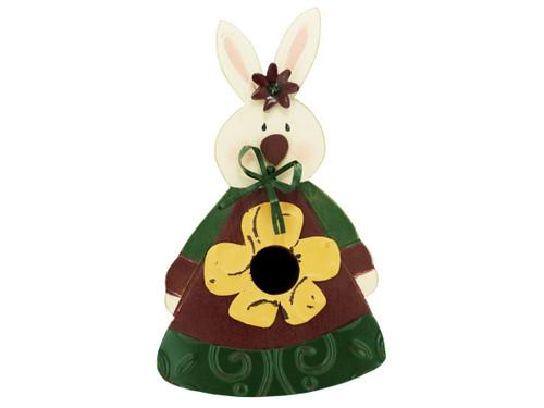 bunny birdhouse 12585