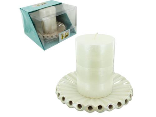 centerpc candl/hldr 13939