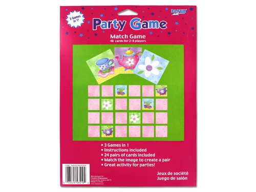 tea party 3 in 1 game