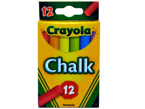 Crayola Colored Chalk Sticks Set