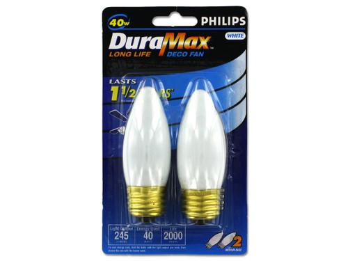 40 Watt light bulbs