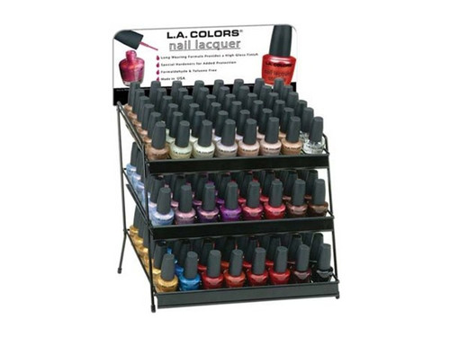 nail polish display assorted colors
