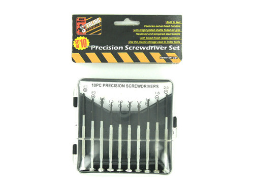 10 Piece precision screwdriver set