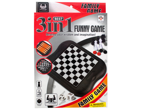 3-in-1 Classic Game Set