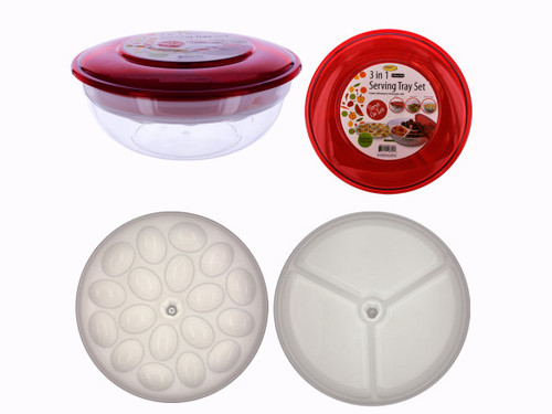 3-in-1 Serving Tray