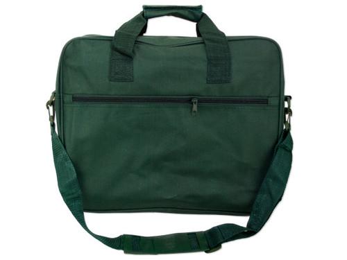 15 inch green messenger bag