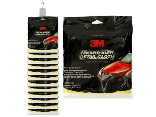 3M Microfiber Auto Detail Cloth Clip Strip