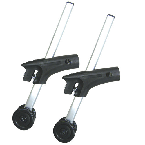 Anti Tippers with Wheels for Cougar Wheelchairs, 1 Pair