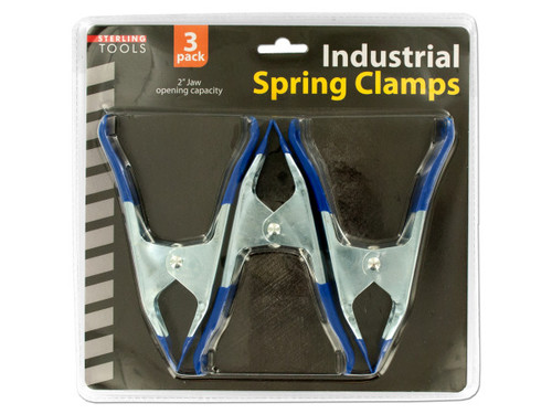 Metal Spring Clamps Set