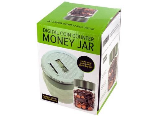 Digital Coin Counter Money Jar