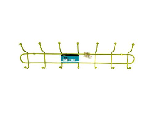 7 Hook Metal Wall Rack