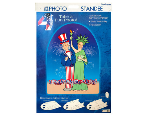 4th of July Life Size Photo Stand