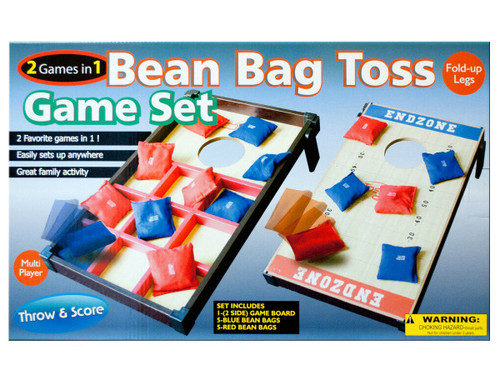 2 In 1 Bean Bag Toss Game Set
