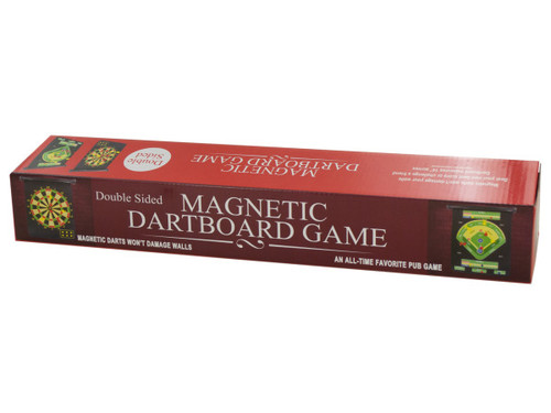 Double-Sided Magnetic Dartboard Game