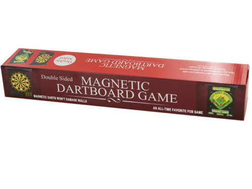 2 In 1 Double-Sided Magnetic Dartboard Game