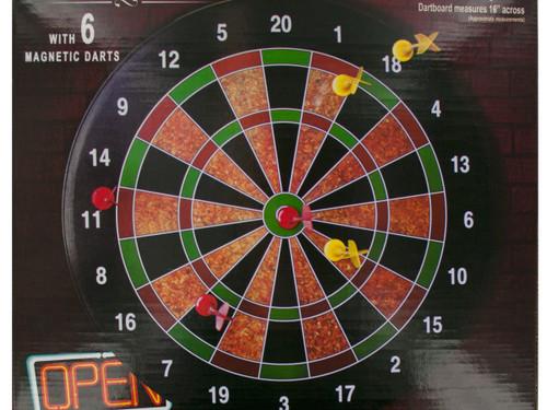 Magnetic Dartboard Game